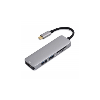 Type-C TO HDMI +USB 3.0*2+SD/TF 5 in 1
